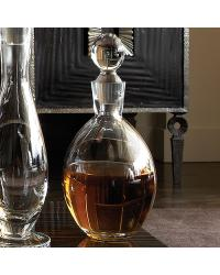 Egg Shaped Glass Bottle by