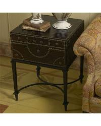Document Box End Table by