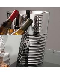 Ribbed Ice Bucket Nickel by