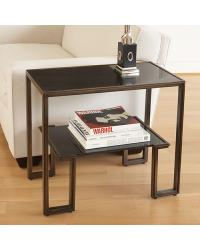 One Up Table Bronze Finish by