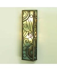 Paris Wall Sconce Nickel by