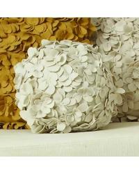 Komaki Ball Pillow Ivory by