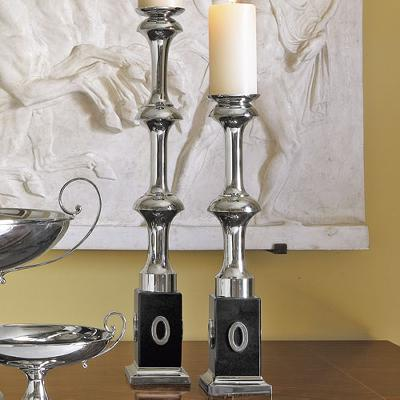 Global Views Modern Candle Holder  Candle Holders and Candelabra