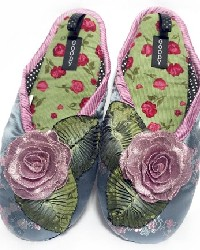 Dusty Rose Womens Slipper by