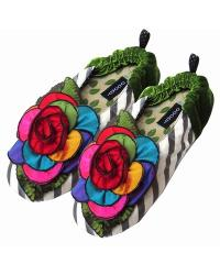 Kaleidoscope Stripe Womens Slipper by