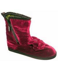 Sparkle Red Bootie by