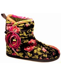 Wrapped Rose Bootie by