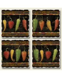 Cantina Square Coaster Set by