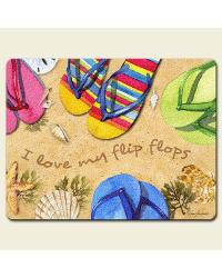 Flop Flip Large Glass Cutting Board by