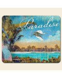 Relax at the Beach Small Glass Cutting Board by