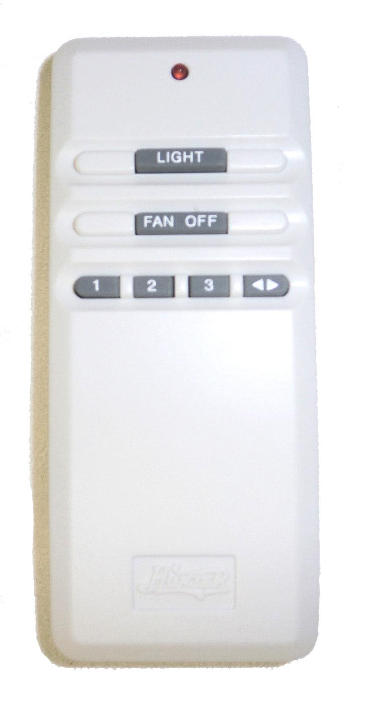 Model 07652 01000 Fan Light Remote Control Hunter Ceiling