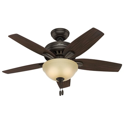 hunter fans 1671 51082  481159 hutner fans 1671 51082  Newsome Brushed Nickel Ceiling Fan 42 Inch Newsome Premier Bronze Ceiling Fan 42 Inch Hunter Ceiling Fans