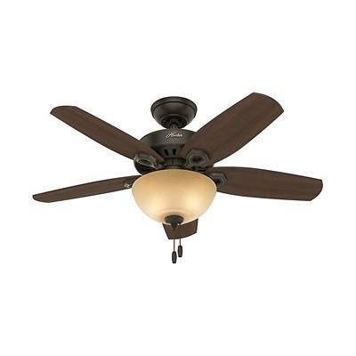 hunter fans 1671 52219  481162 hutner fans 1671 52219  Builder Small Room Bowl Brushed Nickel 42 Inch Hunter Ceiling Fans
