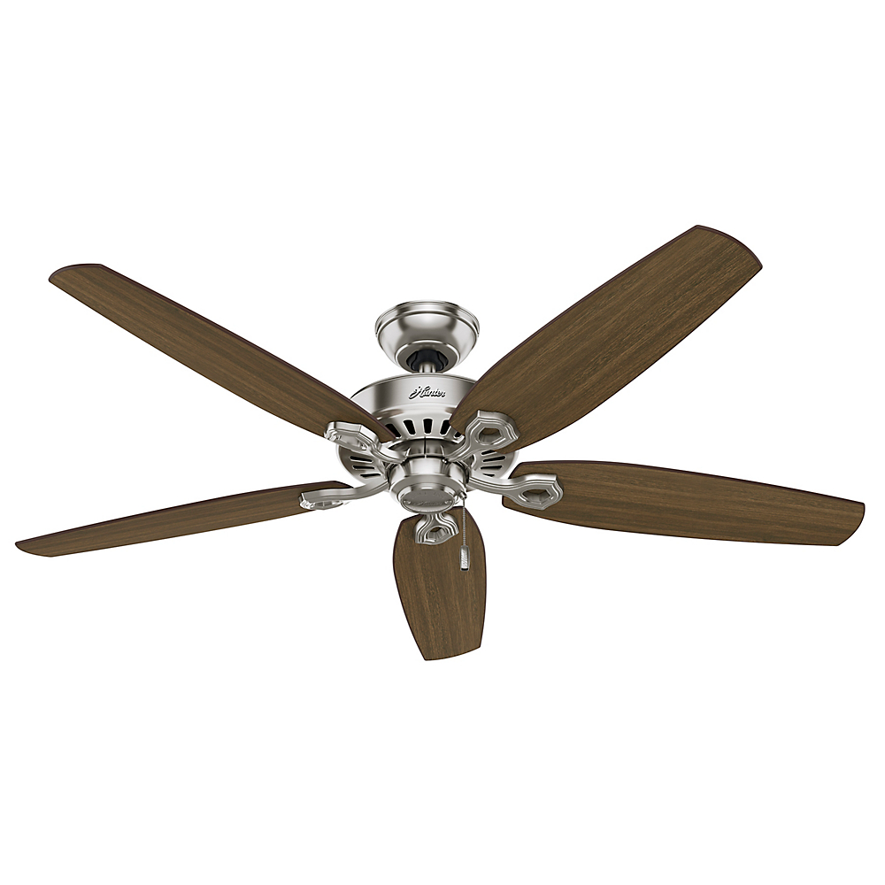 Builder Great Room Brushed Nickel Ceiling Fan 56 Inch