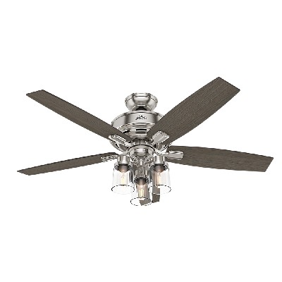 Hunter Fan Co Bennett with 3-Light Brushed Nickel 54190 Each 590679 hunter fan Bennett Brushed Nickel/Chrome Ceiling Fans upc 049694541901 hunter fan Bennett Brushed Nickel/Chrome Ceiling Fans upc 049694541901 hunter fan Bennett Brushed Nickel/Chrome Ceiling Fans upc 049694541901 hunter fan Bennett Brushed Nickel/Chrome Ceiling Fans upc 049694541901 hunter fan Bennett Brushed Nickel/Chrome Ceiling Fans upc 049694541901