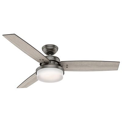hunter fans 1671 59211  481169 hutner fans 1671 59211  Sentinel Brushed Slate Ceiling Fan 52 Inch