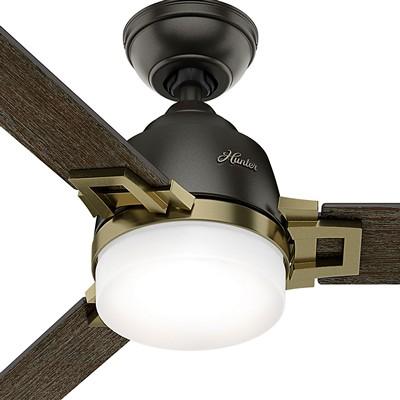 hunter fans 1671 59220  481170 hutner fans 1671 59220  Leoni Bronze 48 Inch Ceiling Fan