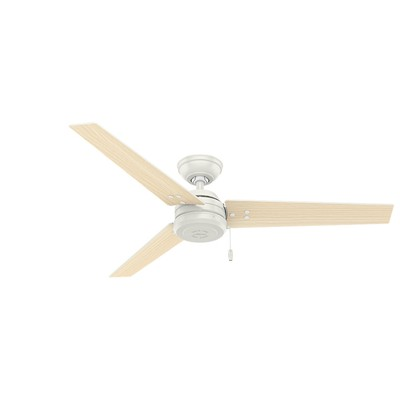 481173 Cassius 52 Inch Ceiling Fan 59263  white ceiling fans outdoor ceiling fans Cassius 52 Inch White Ceiling Fan Damp