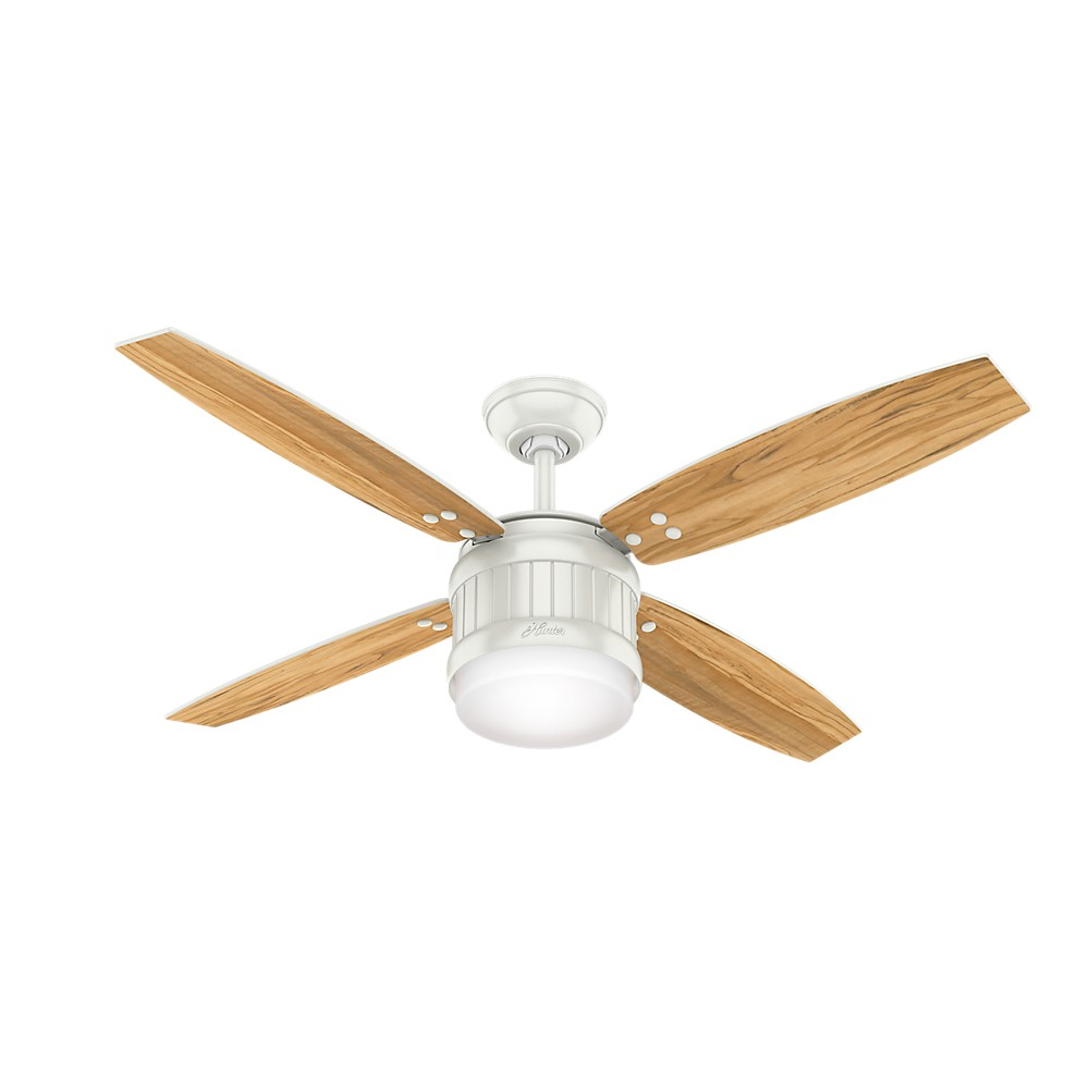 Hunter Baybrook 52 Onyx Bengal Damp Rated Ceiling Fan At: Seahaven