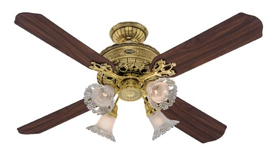 1896 Art Nouveau Ceiling Fan Accessories