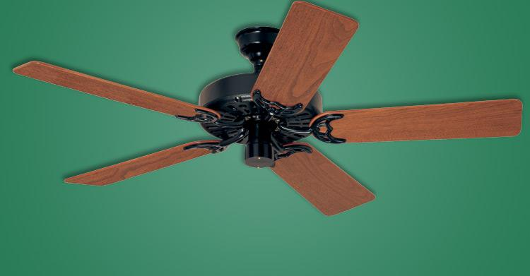 Classic Original Antique Black Ceiling Fan