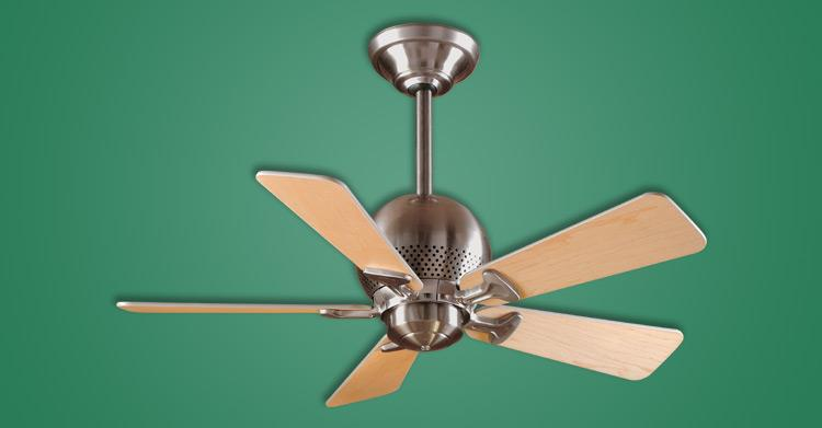 Orbit Brushed Nickel Ceiling Fan