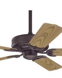 Bridgeport New Bronze Outdoor Ceiling Fan Damp by