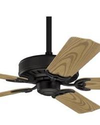 Bridgeport Textured Black Outdoor Ceiling Fan Hunter Ceiling Fans