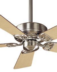 Hudson Brushed Nickel Ceiling Fan