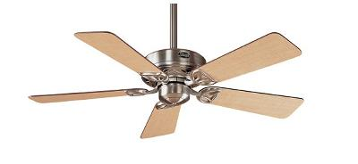 Hudson Brushed Nickel Ceiling Fan