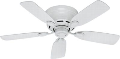 traditional ceiling fans hunter ceiling fans 51059  270275 hunter fan 51059  hunter 42in Low Profile III 42in White  ceiling fans 42in Low Profile White Fan Hunter 51059 Hunter 42in Low Profile White Fan model 51059