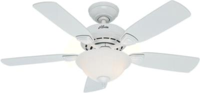 hunter caraway ceiling fan family code h154 44p2 52080  270240 hunter fan 52080  Caraway 44in White ceiling fan Hunter 52080 Hunter Caraway 44in White model 52080