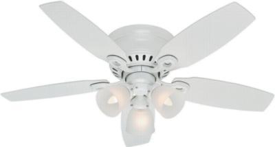 hunter ceiling fans h156 42p2 52087  270316 hunter fans 52087  hunter Hatherton-46in White ceiling fans Hatherton 46in White Fan Hunter 52087 Hunter Hatherton 46in White Fan model 52087