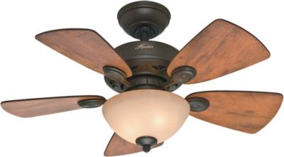 hunter ceiling fans 52090  270244 hunter fans 52090  Watson 34in New Bronze ceiling fans cabin home blades small fans office fans Hunter 52090 Hunter Watson 34in New Bronze model 52090