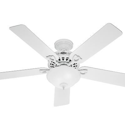 53059  263403 hunter fan 53059 white ceiling fans white hunter ceiling fans 263403 The Astoria - 52