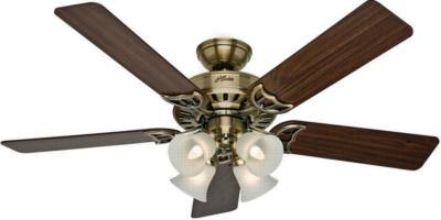 hunter fan studio series ceiling fan hunter ceiling fans h058 52p4 53063 Studio Series Ceiling Fan  266989 hunter fan 53063 Studio Series Ceiling Fan  Studio Series Ceiling Fan Studio Series Antique Brass Ceiling Fan Hunter 53063 Hunter Studio Series Antique Brass Ceiling Fan model 53063