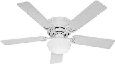 traditional ceiling fans hunter ceiling fans 53075  270283 hunter fan 53075  hunter 52in Low Profile III Plus White  ceiling fans Hunter 53075 Hunter 52in Low Profile III Plus White model 53075