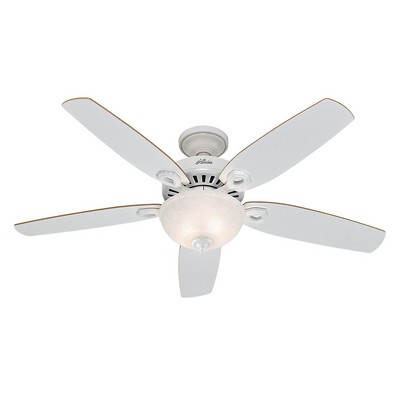 hunter ceiling fans 53089  476371 Hunter Fan 53089 builder deluxe 52 inch fans white ceiling fans builder deluxe ceiling fans Hunter Custom Builder Fans Hunter 53089 Hunter Builder Deluxe 52inch White model 53089