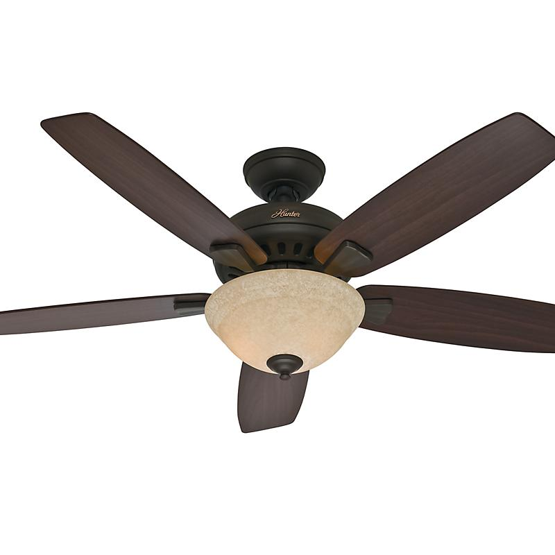 Hunter Fan Parts Order : Banyan in new bronze hunter ceiling fans