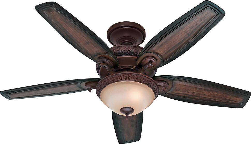 Claymore 54in Brushed Cocoa Hunter Prestige Ceiling Fans