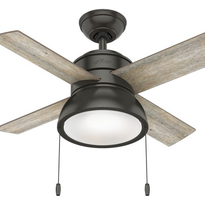 hunter ceiling fans 2018 fans small ceiling fans Loki Noble Bronze 36in Fan 59387  657720 Hunter Fan Loki Noble Bronze