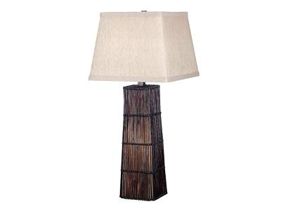Kenroy Wakefield Table Lamp Dark Rattan Search Results