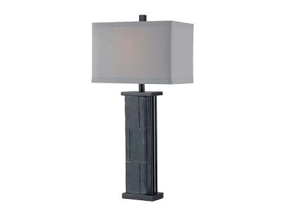 Kenroy Manuever Table Lamp Natural Gray Slate Search Results