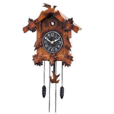 Wooden musical cuckoo pendulum clock interior mall - Cuckoo pendulum wall clock ...
