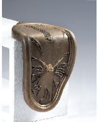 Melting Bronze Shelf Sitter Clock by