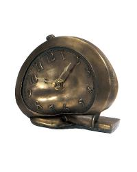 Melting Bronze Faux Alarm Clock by