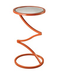 Zig-Zag End Table  by