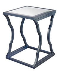 Metal Cloud Side Table navy by