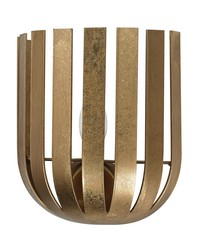 Gold Leaf Olympia Wall Sconce by