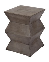 Fold Cement Stool by